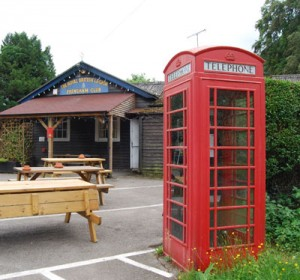 British Legion Phone Box