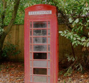 Sandy Lane Phone Box